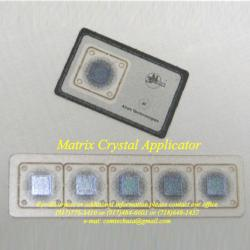 Matrix Holographic Crystal Applicators